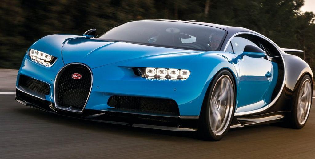 Le Bugatti chiron