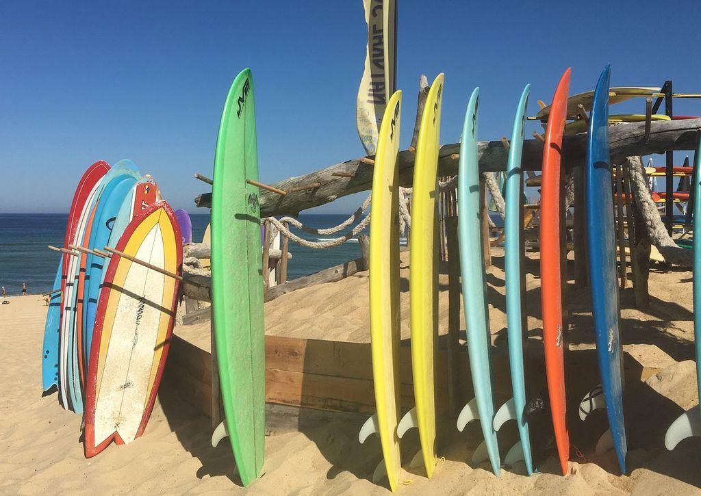 Les planches de surf